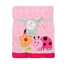 Carter's Ladybug Valboa Blanket - Triboro Quilt Co. - Babies