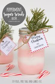 Recipe Labels Peppermint Sugar Scrub Recipe With Free Label And Tag