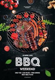 Barbecue Flyers Bbq Psd Flyer Template