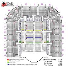 Sixth And I Seating Chart Seating Map Daughters Of The American Revolution