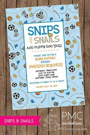 glamorous snips and snails and puppy dog tails baby shower 43 on personalized baby shower favors