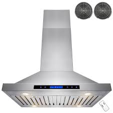 Kitchen Hood Range Hoods Vent Hoods Exhaust Hoods The Home Depot