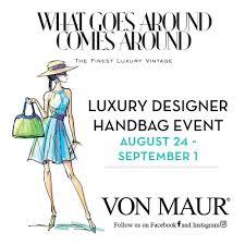 Von Maur Designer Handbags Wgaca Luxury Designer Handbag Event The Meadows At Lake St
