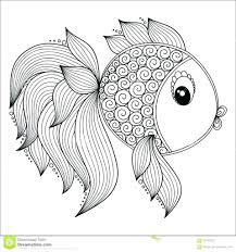 Awesome Fish Colouring Pages For Adults 64 Remodel With Fish