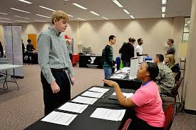 Library teen job fair