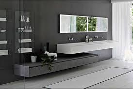 Pavimento Scuro Bagno : Bagno moderno nero e grigio tendenze sanitari grigi neri