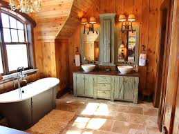 rustic bathroom lighting fixtures. exciting rustic bathroom lighting ideas diy wood beam light fixture wooden wall and cupboard sink faucet bathtub towel ccrystal lamp fixtures o