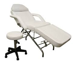 massage table and chair. Aesthetic Bed White 2 Massage Table And Chair D