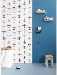 Bolcom Studio Ditte Behang Vliegtuigjes