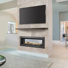 Modern Contemporary Gas Fireplace Inserts  Warm Contemporary Gas Gas Fireplace Ideas