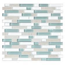 american olean glass tile quartz 5 8 x random mosaic dune american olean