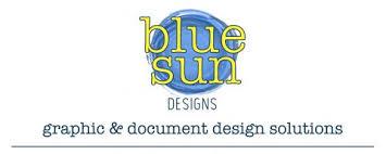 Blue Sun Designs Graphic Document Design Solutions