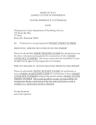 Best Photos Of Example Of A Permission Letter Sample Permission