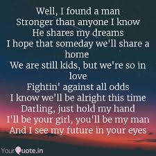 Found The Man Of My Dreams Quotes Best of Well I Found A Man Stron Quotes Writings By Diksha Lohar