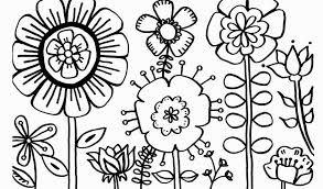 Spring Flower Coloring Pages For Toddlers Fresh Spring Coloring