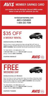 Car Rental Discount Coupons