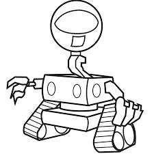 dessinfl vine robot coloring book
