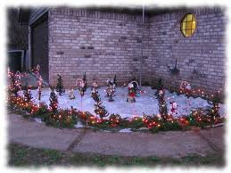 Candy Cane Yard Decorations Outdoor Candy Lighted Cane Cane Decorations 60 Steps 28