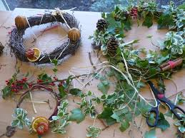 Atwork I spent a really inspiring morning at Garden Organic in Ryton this  weekend learning how to make natural Christmas decorations ...