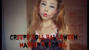 creepy doll makeup tutorial you b2cutecupcakes