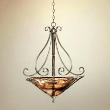 iron works lighting chandelier acanthus outdoor franklin collection wor