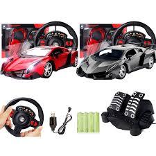 1:12 Steering Wheel Gravity Sensing <b>Four</b>-<b>Way</b> Remote Control Car ...
