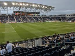 Talen Energy Stadium Section 131 Rateyourseats Com