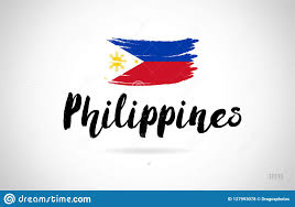 Philippine Logo Design Philippines Country Flag Concept With Grunge Design Icon