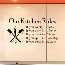 Kitchen Stencil Aliexpresscom Buy Kitchen Wall Tile Stickers Quarto English