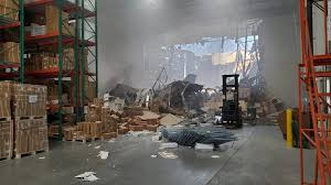F-16 fighter jet that crashed into warehouse had live ammunition ...