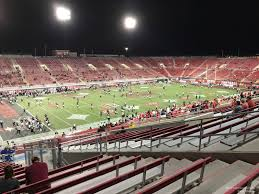 Sam Boyd Stadium Virtual Seating Chart Sam Boyd Stadium Section 233 Rateyourseats Com
