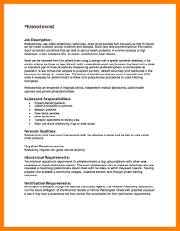 Phlebotomy Example Resume For Skills Intended Your Property