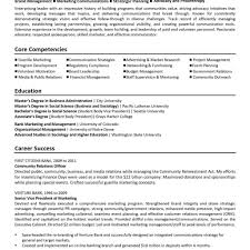 Board Of Directors Resume Manager Responsibilities For Resume