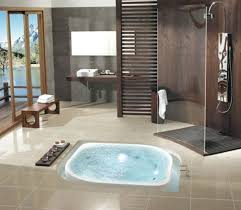 Bathroom With Hot Tub Interior Awesome Decorating Design
