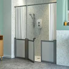 shower door height standard half height standard shower doors and screens frameless shower door standard height shower door height