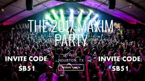 no one but super sunday hq can say they ve been to the last 8 maxim super bowl parties and been to 3 karma international produced maxim parties in the