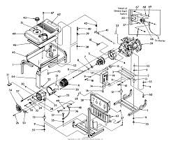 Briggs and stratton power products 9861 0 1n167 6 500 watt dayton rh jackssmallengines generac engine parts diagram wiring diagram generator to your