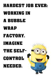 Self Control Quotes Awesome Minion Quotes SelfControl Funny Motivational Poster My Hot