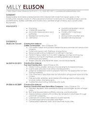 general laborer resume skills general labor resume template skinalluremedspa com