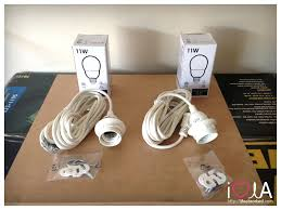 because of the task limitations i started by looking at ikea and found for 8 i could get this light socket with long cord hooks and bulb add task lighting