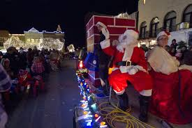 Fayetteville Lighting Of The Square 2019 Lights Of The Ozarks Parade Features New Route