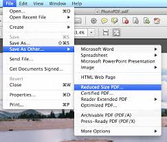 how to reduce screen size reduce pdf size in adobe acrobat pro