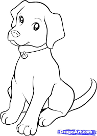 Small Picture retriever coloring pages