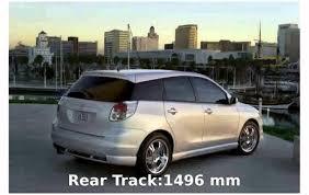 2001 Toyota Matrix - Features - YouTube