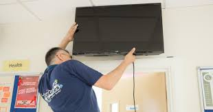 tv wall mounting service in london