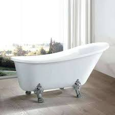 freestanding clawfoot tubs in acrylic bathtub tub faucet