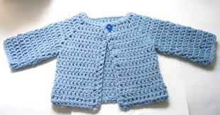 Free Crochet Baby Sweater Patterns Magnificent Free Easy To Crochet Baby Sweater Patterns Archives Knit And