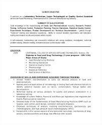 Lab Skills Resume Professional Lab Technician Resume Resume Template