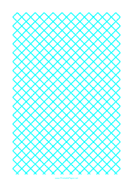 Printable Graph Paper For Quilting With 1 Line Per Cm Ruled Diagonally