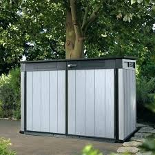 outdoor garbage can storage bin outdoor garbage storage outdoor garbage can storage home depot large size of can storage shed as outside garbage storage